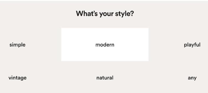 挑选你所喜欢的风格 第3张