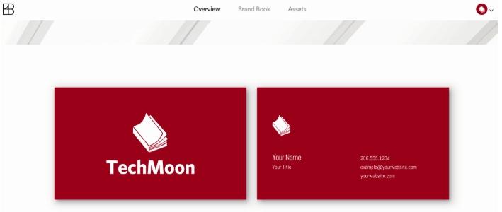 Brandbuilder 还会直接帮你产生相对应的名片设计 第13张